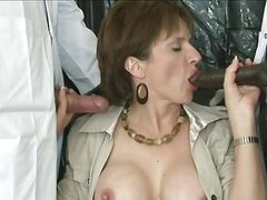 British lady loves cum