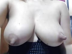 Perfect  Natural Nipples And Milky Tits