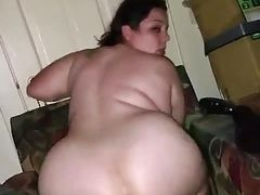 White Wife Riding Huge Black Dildo