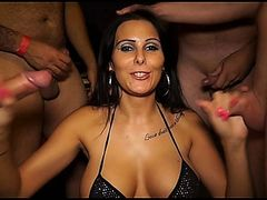 German Amateur Xania - Dick sucking Competition