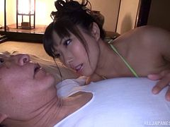 Big oiled up Japanese titties make fucking even better