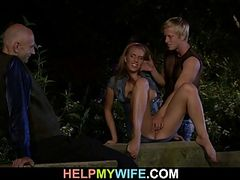 Hung stranger does horny young wife