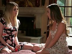 Blake Eden and Capri Anderson's First Lesbian Fun