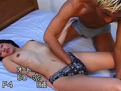 Sensual Asian chick loves having her pussy finger fucked