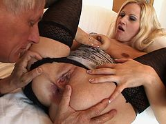 Blonde Sandra De Marco fucks with Christoph Clark