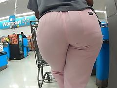 PHAT BOOTY NURSE IN WALMART PART 2