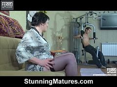 Stephanie Gets Some Raunchy Mature Action