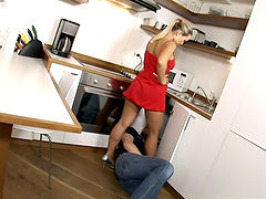 A Peep Under Marketa's DressDrives The Plumber Wild