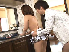 Nao is a lovely Asian doll who likes to cook in the kitchen
