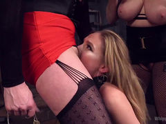 Maitresse Madeline punishes her slaves