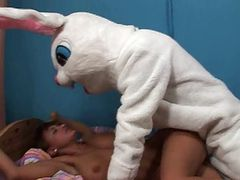 Veronica Vs nasty bunny