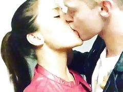 Dilan Yurdakul acting horny and tongue kiss dutch guy ferry
