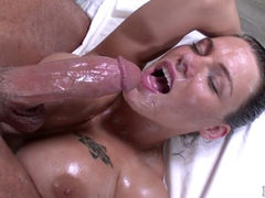 Peta Jensen all lubed up
