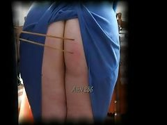 A&N 286 spanking BBW Old Amateur Ass