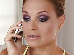 Hot milf and her younger lover 48