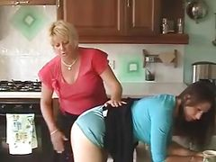 Spanked by her Aunt