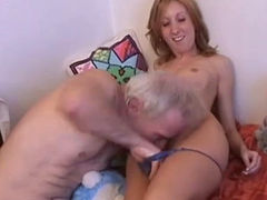 Old Man Fucks Young Teen