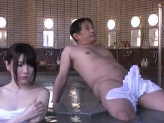 An Encounter At A Japanese Onsen Spa 4
