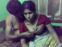 Amateur young Mumbai girl and her boyfriend on webcam