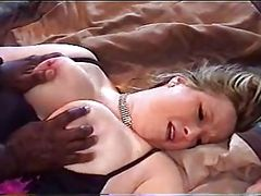 Hot white wife and huge bbc while hubby films