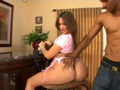 White babes get anal from BBCs