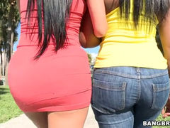 Big ass Diamond Kitty and Cherie Magic gets fucked