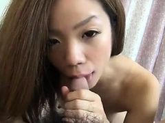 AsianSexPorno.com - Cute japanese girlfriend blowjob