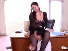 Dj Oscar Leal   boss fucked her hot secretary in the office