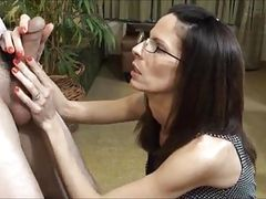 Crazy wife tastes sperm