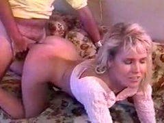 Sizzling vintage babe with amazing jugs gets fucked in missionary pose