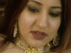Arabian princess rides white cock and loves anal