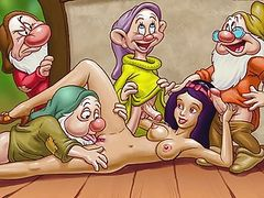 Famous cartoon porn stars go real