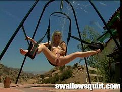Plenty Squirting Sluts Playing On The Swing