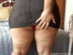 Cute chubby latina imagines you were fucking her juicy pussy