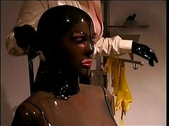 Mistress skintight latex