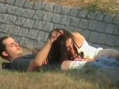 These two seemed to be obsessed with having a wild sex outdoors