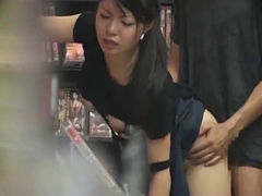 A Shop Assistant Fucked In An Adult Video Store