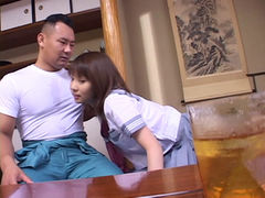 Japanese Girl pounded hard