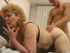 Lustful granny Iren is screwed bad in a hardcore sex scene