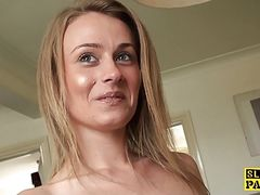 Teenage amateur dominated roughsex
