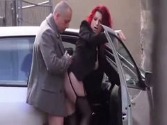 Hidden cam video of my boss fucking his secretary near a car