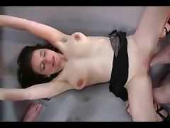 Sexy MILF fisted in a threesome