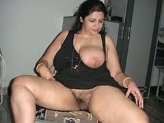 Chubby ex wife of my mate takes cock of her fat lover