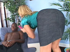 Black Cock Addiction blonde
