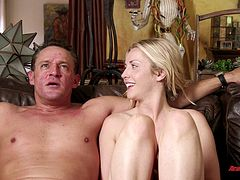 Erotic interview compilation clip with passionate couples